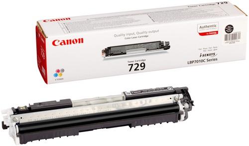 Canon 729, Toner schwarz, 1'200s