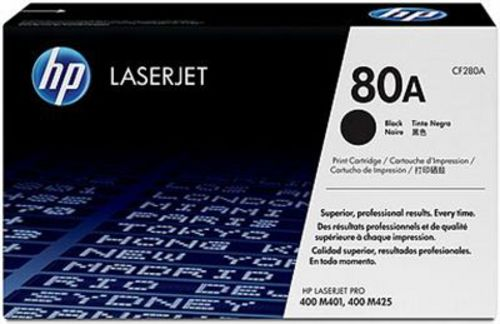 HP 80A, Toner noir, 2'700 pages