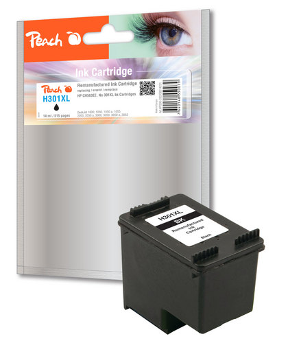 H301XL pour HP No. 301XL noir Cartouche d'encre compatible