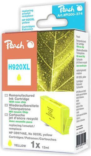 H920XL Cartuccia di stampa per HP GIALLO (No. 920XL giallo)