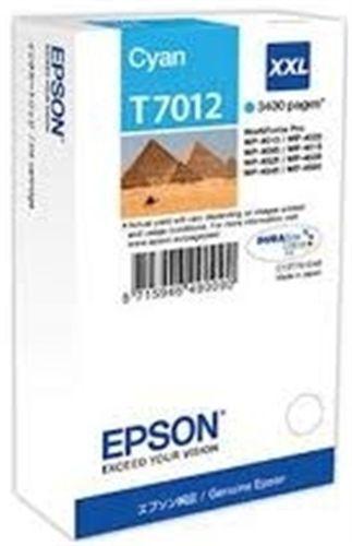 Epson T7012, Cartouche d'encre cyan, 3'400 pages