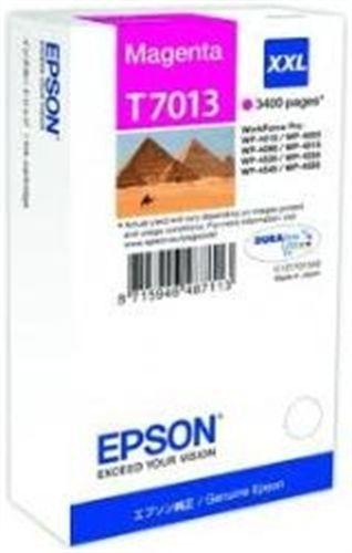 Epson T7013, Cartouche d'encre magenta, 3'400 pages