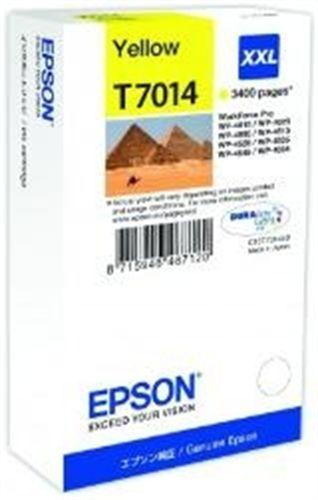 Epson T7014, TPA yellow, 3'400 Seiten, 34.2ml