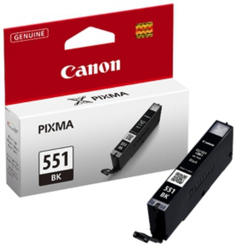 Canon CLI-551BK, Cartuccia d'inchiostro nero, 7 ml