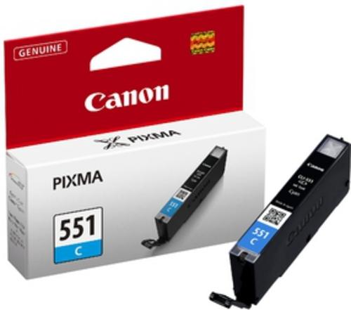 Canon CLI-551C, Cartuccia d'inchiostro cyan, 7 ml