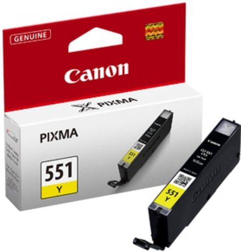Canon CLI-551Y, TPA yellow, 7ml