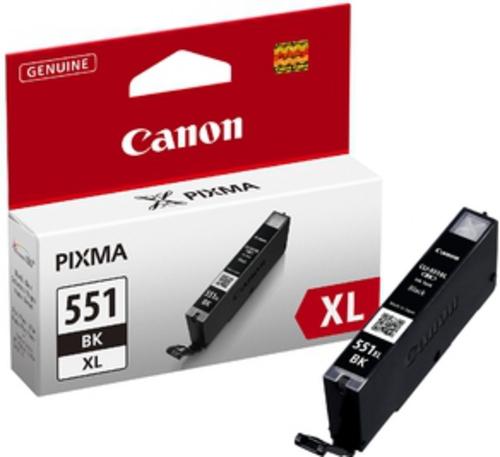 Canon CLI-551XL BK, Cartouche d'encre noir, 11 ml