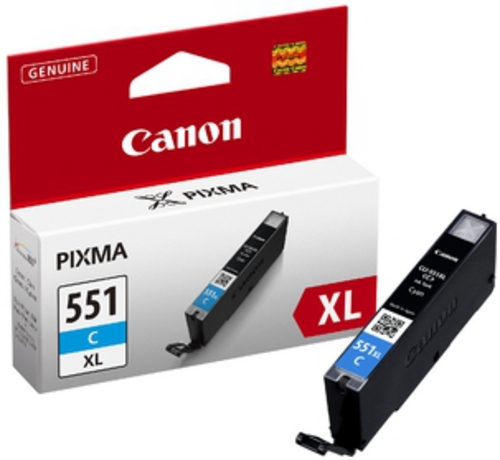 Canon CLI-551XL C, TPA cyan, 11ml