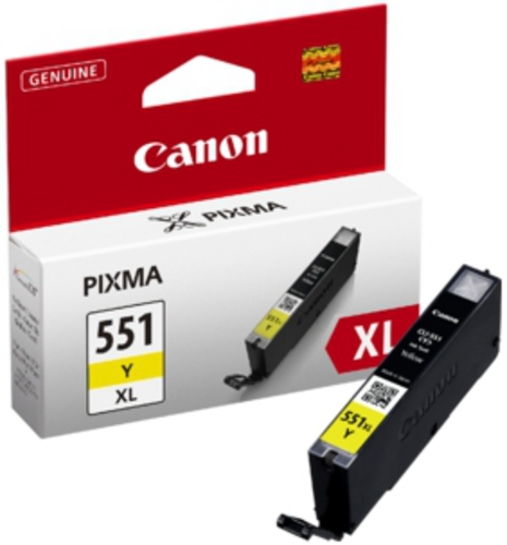Canon CLI-551XL Y, Cartuccia d'inchiostro giallo, 11 ml
