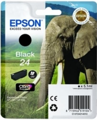 Epson 24, TPA schwarz, 240 Seiten, 5.1ml
