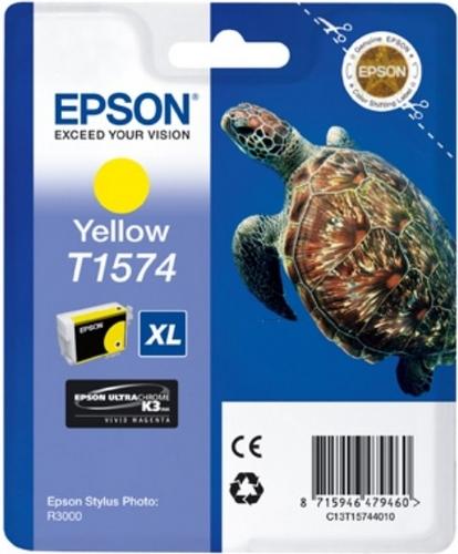 Epson T1574, Cartuccia d'inchiostro giallo, 25.9ml