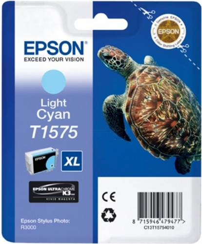 Epson T1575, Cartuccia d'inchiostro light cyan, 25.9ml