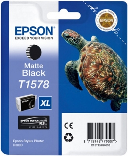 Epson T1578, Cartuccia d'inchiostro nero mat, 25.9ml