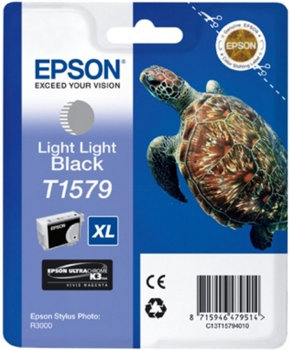 Epson T1579, TPA light light schwarz, 25.9ml