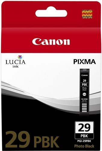Canon PGI-29pbk, Cartouche d'encre photo noir, 36ml
