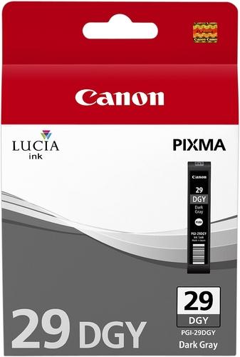Canon PGI-29dgy, Cartouche d'encre gris foncé, 36ml