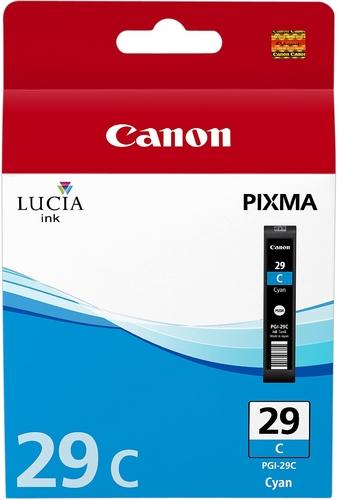 Canon PGI-29c, Cartouche d'encre cyan, 36ml