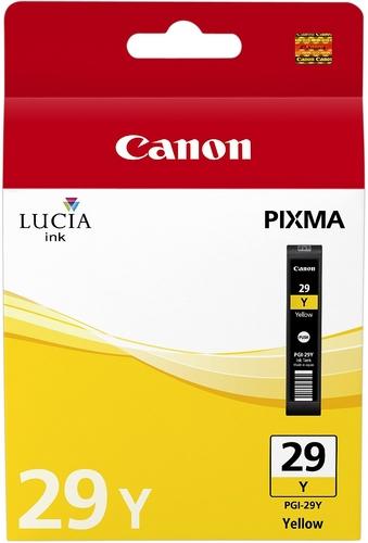 Canon PGI-29y, Cartouche d'encre jaune, 36ml