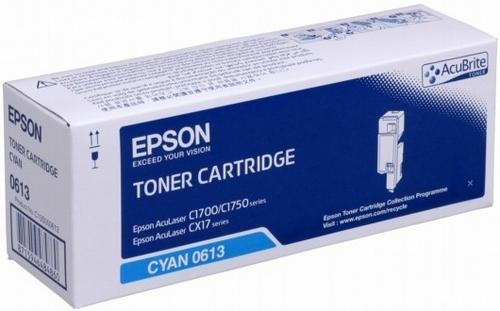 Epson S050613, Toner cyan, 1'400s