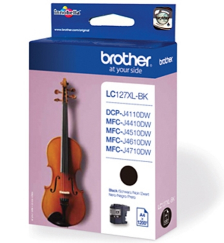 Brother LC127XL-BK, TPA black, 1'200s