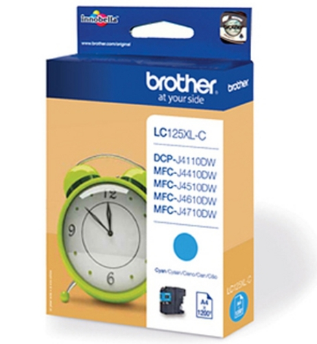 Brother LC125XL-C, Cartouche d'encre cyan, 1'200 pages