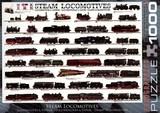Locomotive à vapeur - Puzzle [1000 pièces]