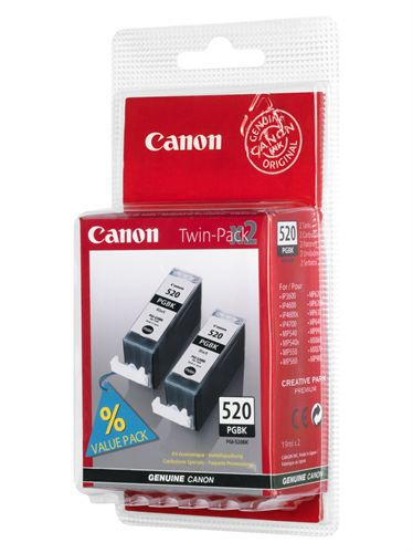 Canon PGI-520BK TwinPack, TPA schwarz, 2 x 19ml