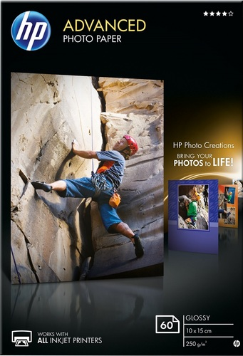 60 10x15 Advanced Photo Paper 250g/m2, glossy
