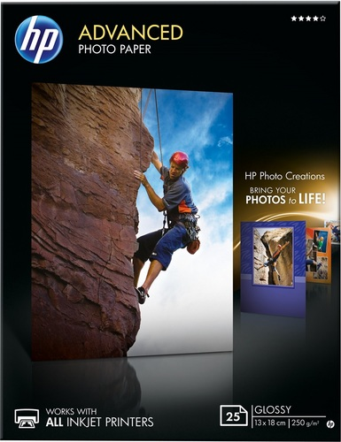 25 13x18 Advanced Photo Paper 250g/m2, glossy
