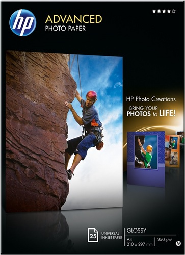 25 A4 Advanced Photo Paper 250g/m2, glossy