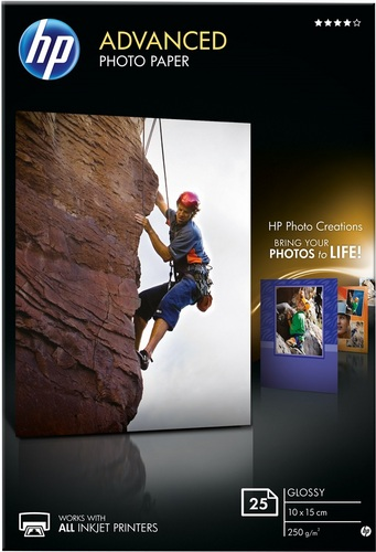 25 10x15 Advanced Photo Paper 250g/m2, glossy