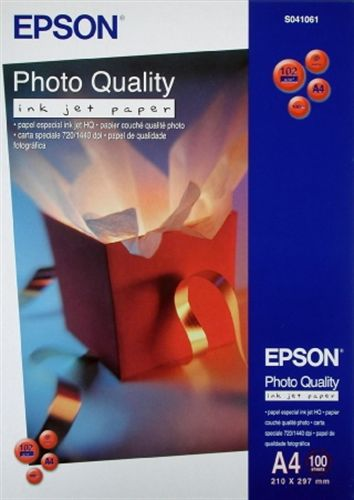 100 A4 Inkjet Paper 104g/m2, Photo Quality