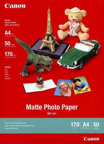 50 A4 Photo Paper matte MP-101 170g/m2, matt