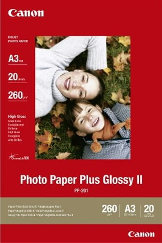 20 A3 Photo Paper Plus PP-201 260g/m2, glossy