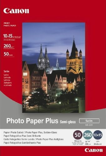50 10x15 Photo Paper SG-201 260g/m2, semi-gloss