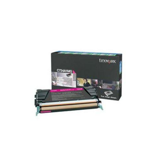 Lexmark C734, Toner magenta, 6'000 pages