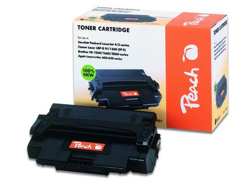 Peach Tonermodul schwarz kompatibel zu Canon, Brother, HP, Apple 92298A, EX