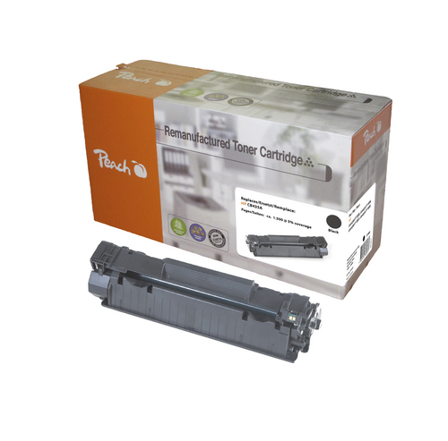 Peach pour HP CB435A noir Toner compatible