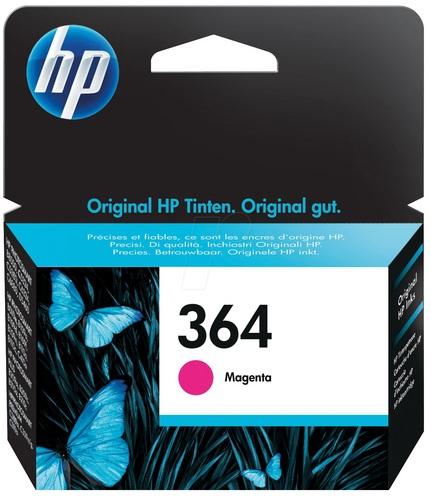 HP Nr. 364, Cartuccia d'inchiostro magenta, CB319EE