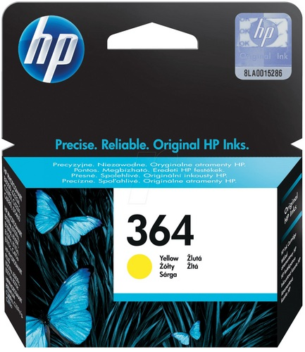 HP Nr. 364, TPA yellow, CB320EE
