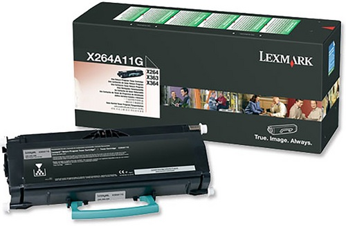 Lexmark X264, Toner noir, 3'500 pages