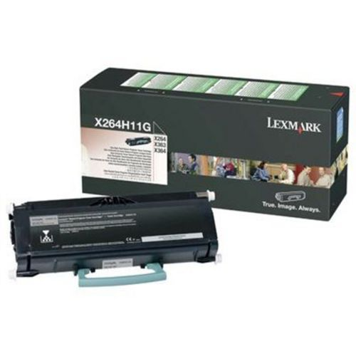 Lexmark X264 High Yield, Toner noir, 9'000 pages