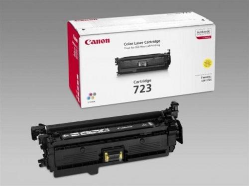 Canon 723, Toner yellow, 8'500s