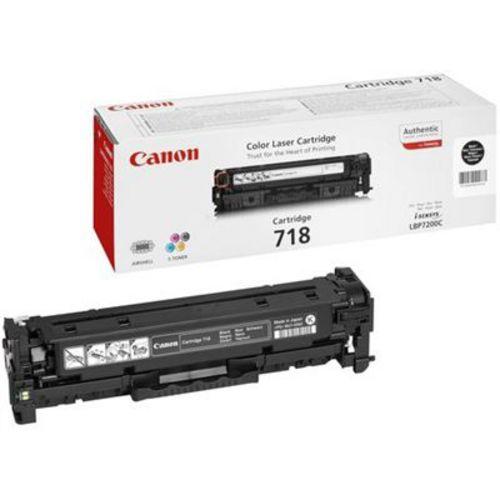 Canon 718, Toner schwarz, 3'400s