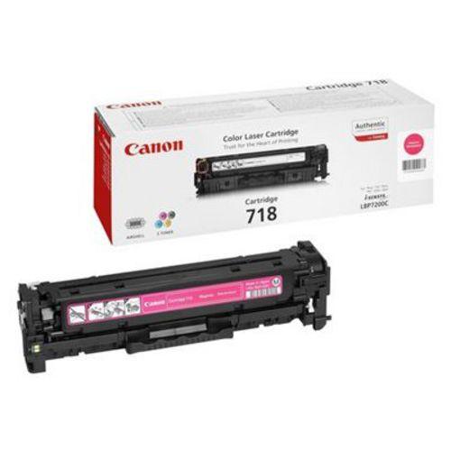 Canon 718, Toner magenta, 2'900 pagine