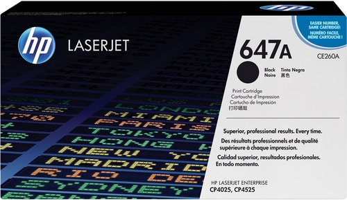 HP 647A, Toner noir, 8'500 pages
