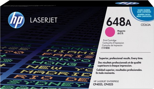 HP 648A, Toner magenta, 11'000 pages