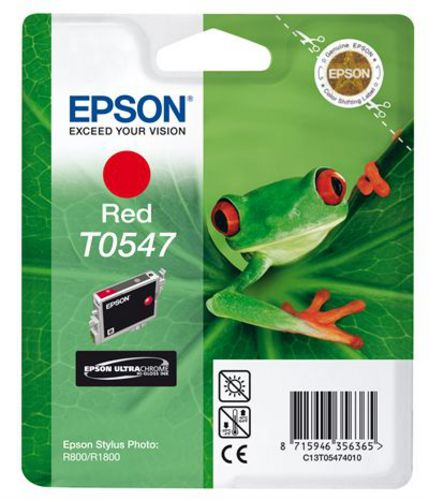 Epson T0547, Cartuccia d'inchiostro rouge, 13ml