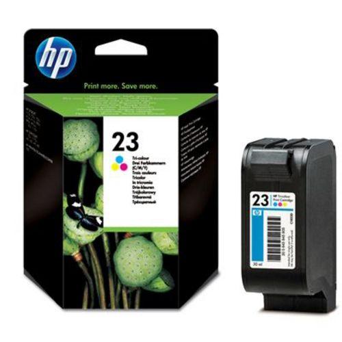HP No. 23, Cartouche d'encre en 3 couleurs, C1823DE