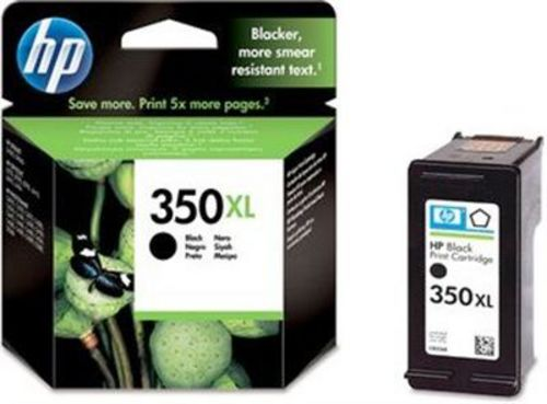 HP Nr. 350XL, TPA schwarz, CB336EE